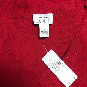 Ann Taylor LOFT sweater & vest
